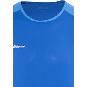 Bergans Slingsby Bluzka z długim rękawem Mężczyźni, athens blue/light winter sky/alu